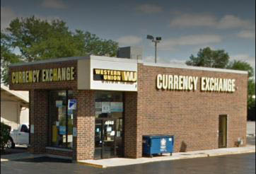 Exterior picture of 111th St Currency Exchange located in Alsip, IL