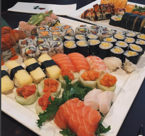 SUSHI KINGDOM, 148 RTE 73 NORTH, NEXT TO CHICK-FIL-A, ACROSS FROM BURNS HONDA MARLTON 08053