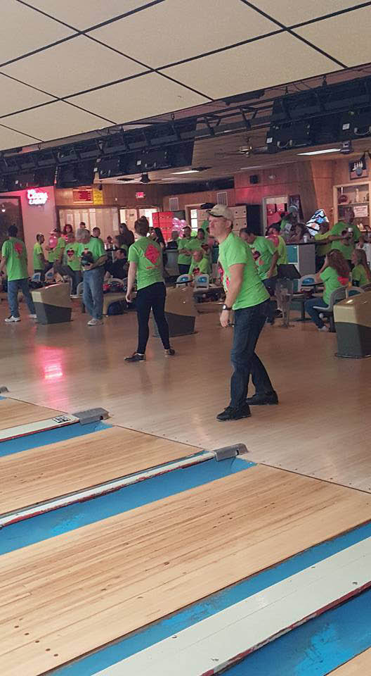 bowl for the cure, hagerstown, bowling, cancer, susan komen