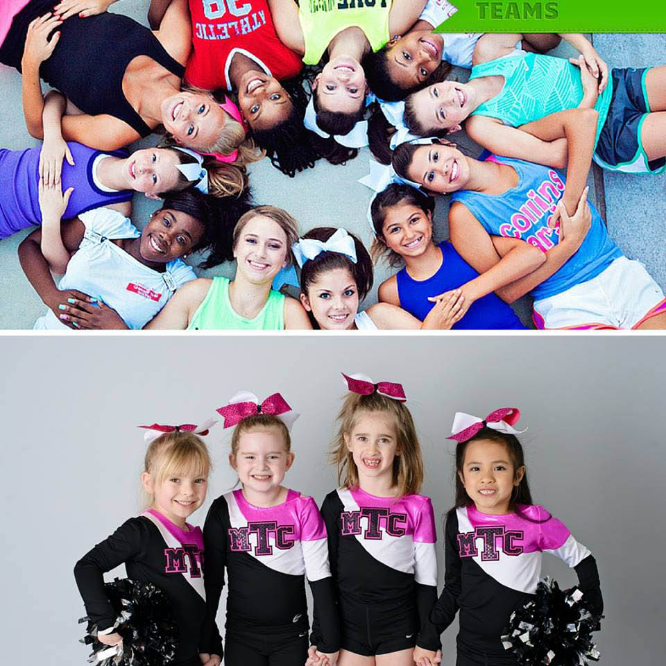 cheer, cheerleading, summer camp, after school care, open gym, instructors, all star team; ashburn, va
