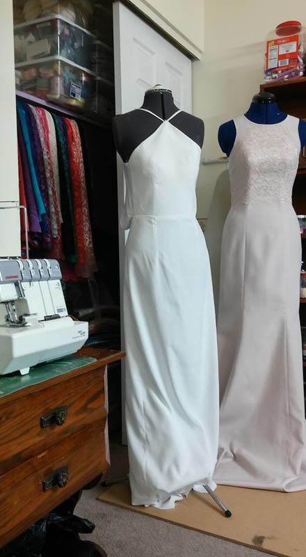 dress made at bright light d&c