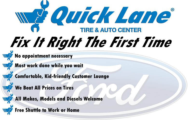 Quick Lane Tire & Auto Center Fix It Right The First Time