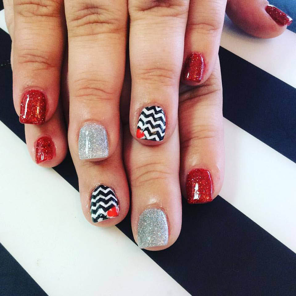 painted nails; nail lab located in Colleysville, Texas