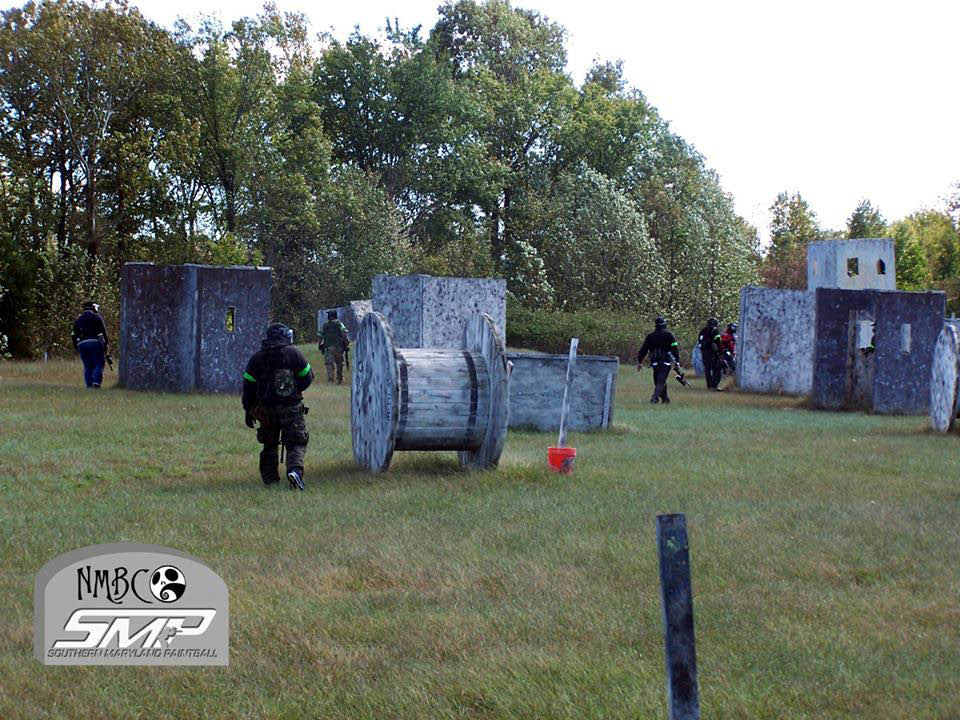 paintball events; southern maryland paintball, team building, private parties