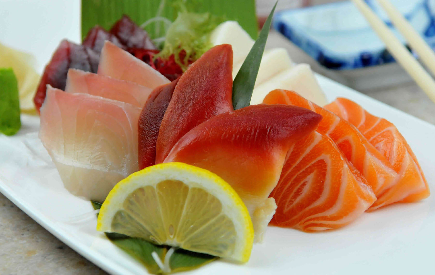 Sashimi Plate...enjoy this and many other fine dishes.