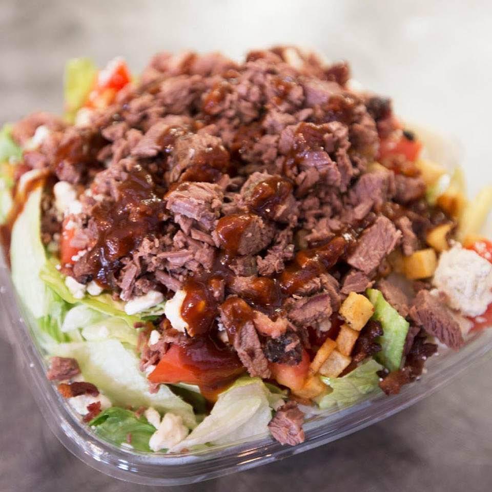 bbq salad; Urban Bar-B-Que located in La Plata, Maryland