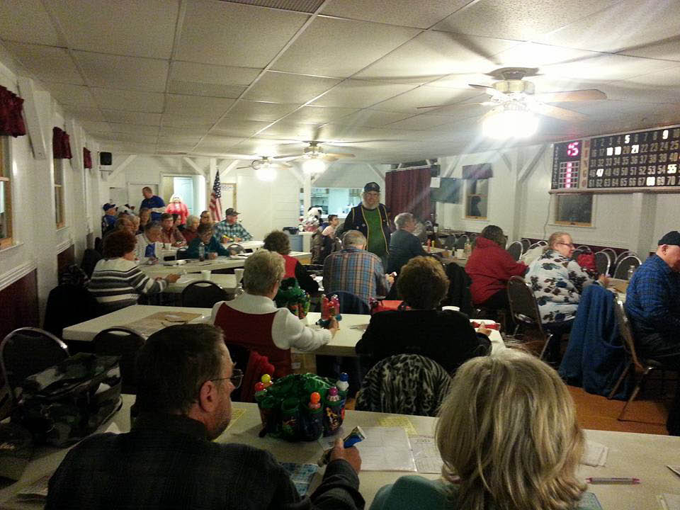 bingo, fun, marlow ruritan club, community, falling waters