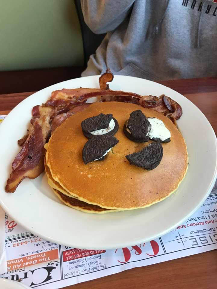 american style 24 hour diner, pancakes; The Nautilus crofton maryland