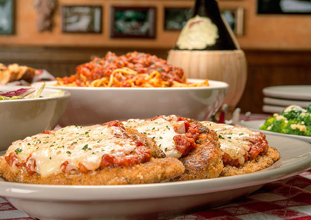 Buca di Beppo celebrates recipes handed down from generation to generation by Italian immigrants.