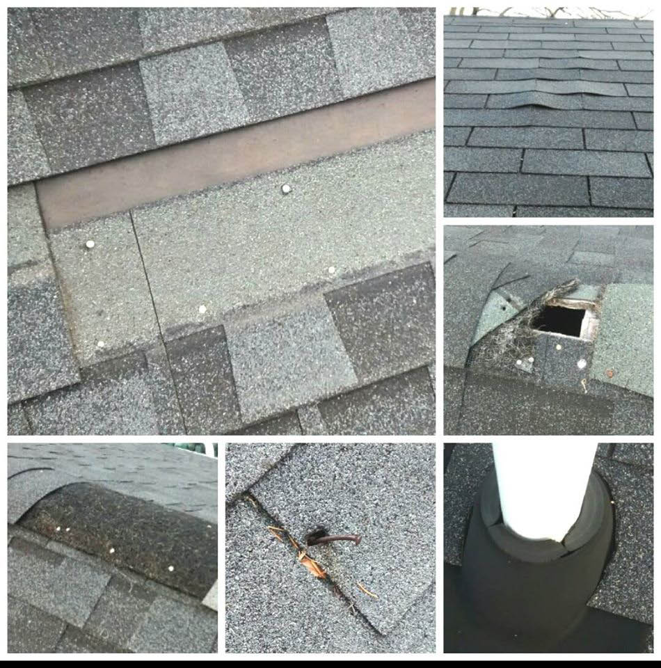 Flashing, Chimneys, vent pipe collars, skylights, shingle blow-offs, black-streak removal, roof cleaning