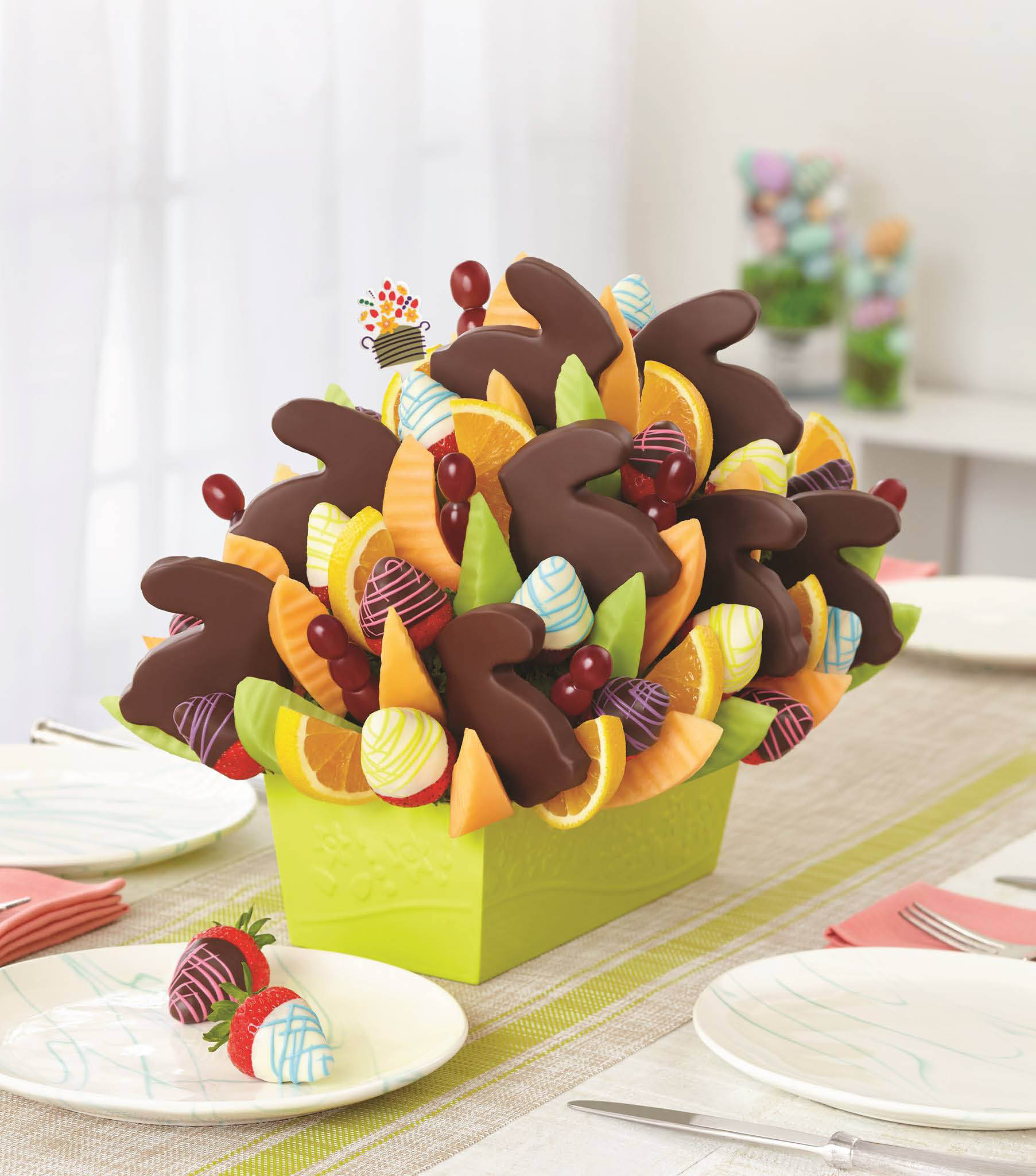 fruit flowers dipped in chocolate; edible arrangements crofton, maryland
