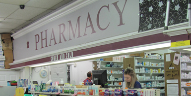 drug shoppe pharmacy drug store medicine cherokee shopping center ft. mitchell kentucky