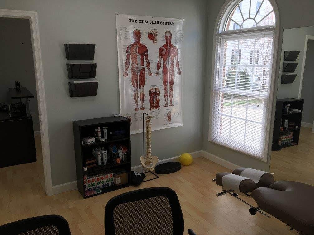 evolution spine and wellness gaithersburg maryland office