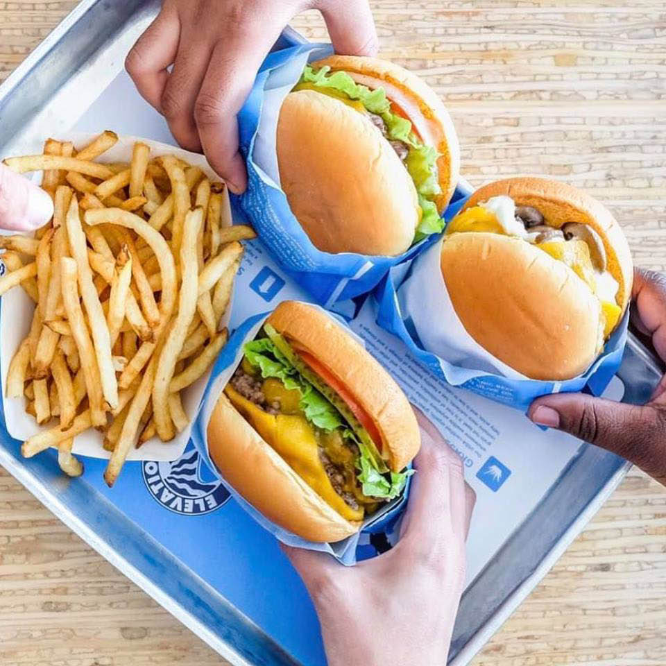 elevation burger gambrills md fries shakes