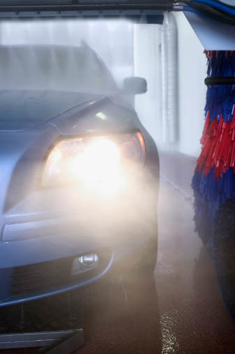Jersey Shine & Lube Car Wash offers multiple car washes