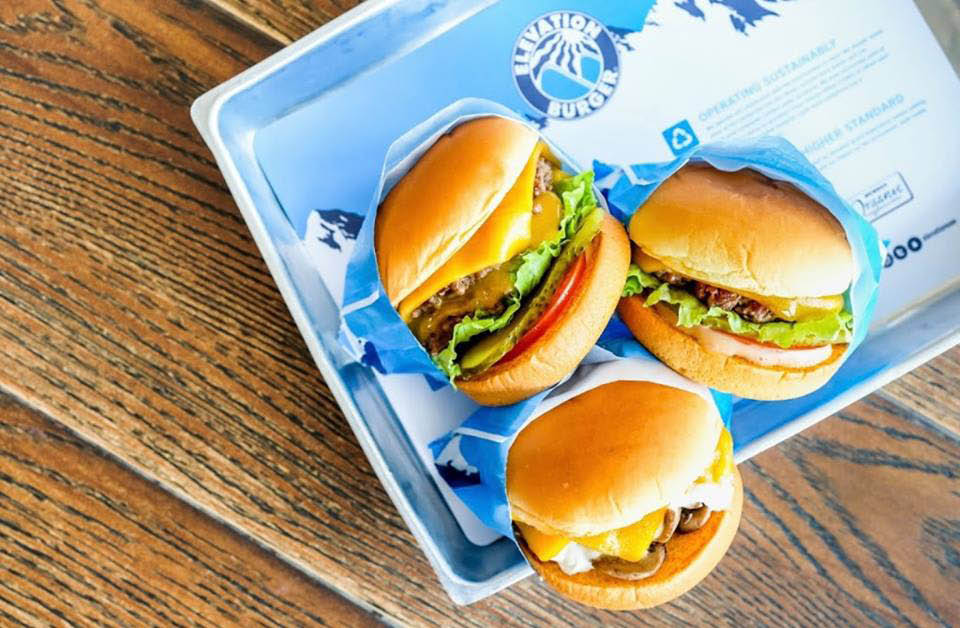 elevation burger gambrills md cheese fries shakes