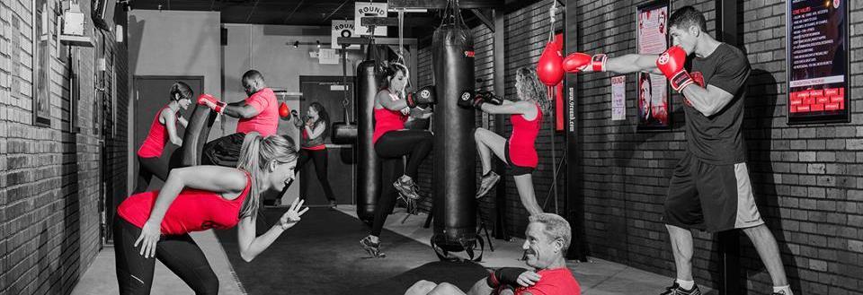 9 rounds kickboxing austin texas logo