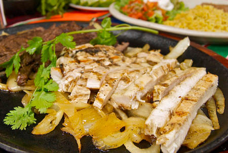 Irresistible, authentic recipe Fajitas at Las Mananitas Mexican Restaurant