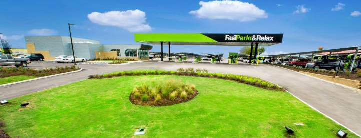 fastpark & relax airport parking facility houston texas