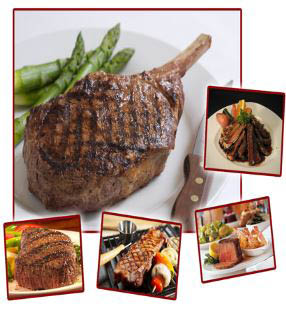 Juicy Texas steaks and hearty portions at Peppers Steak & Seafood