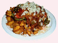 garbage plate all american plate burger fries mac salad meat hot sauce rochester ny coupon coupons