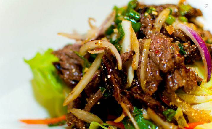 Our own Beef Pad Thai food recipe