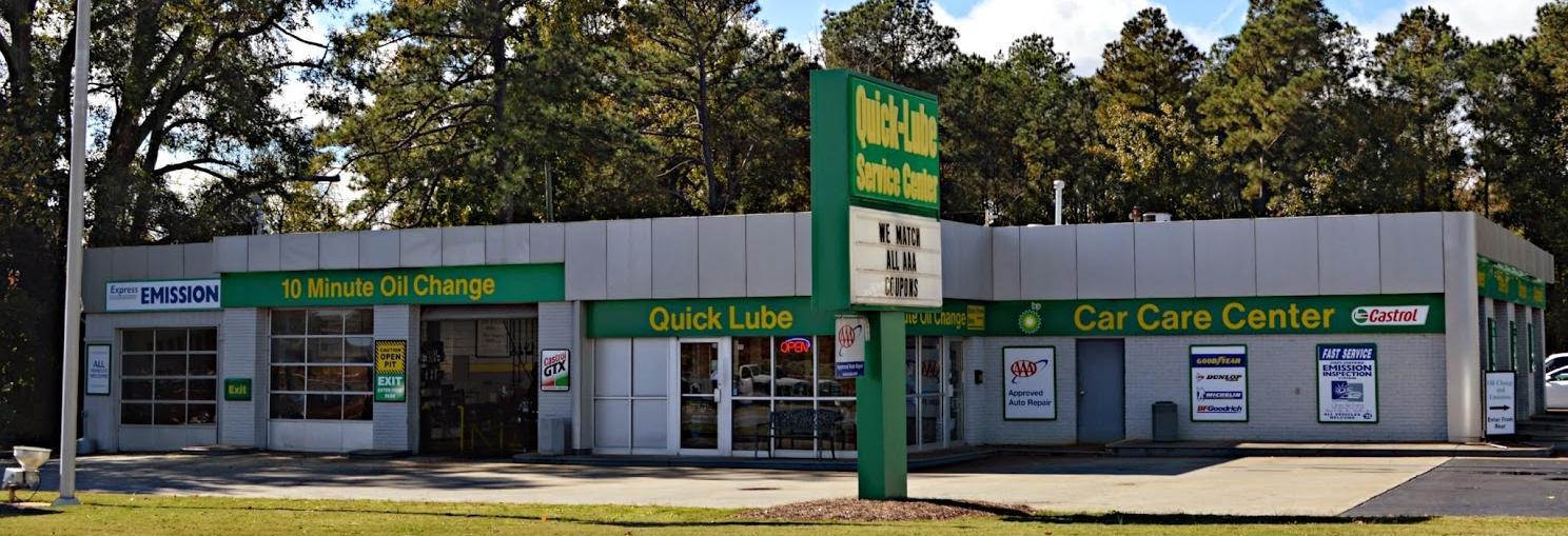Baxter BP Car Care Center - Shop Exterior Marietta banner