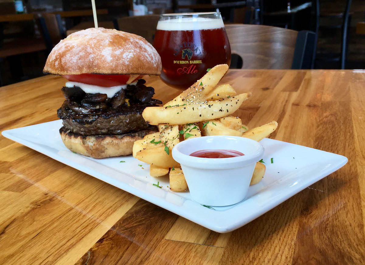 850°F fine juicy burgers and fries in Milton, GA