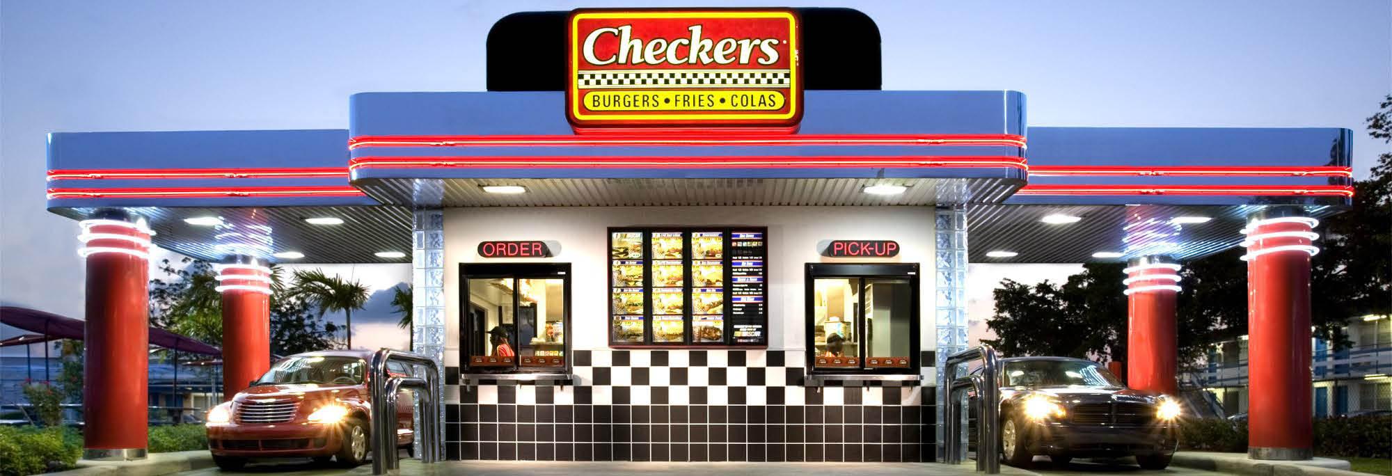 cherckers drive thru