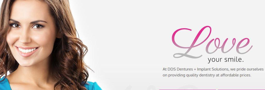 DDS dentures and implant solutions in kyle texas banner