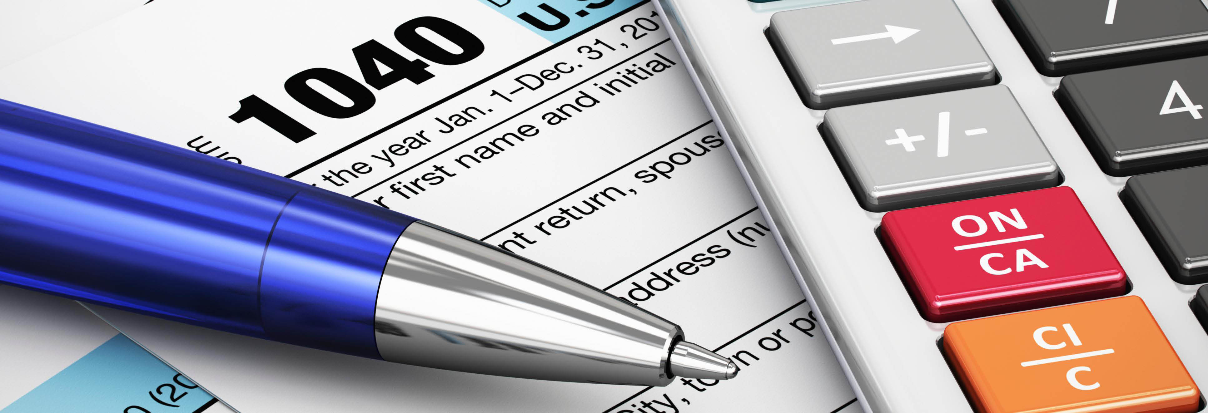 1040 Tax Form banner
