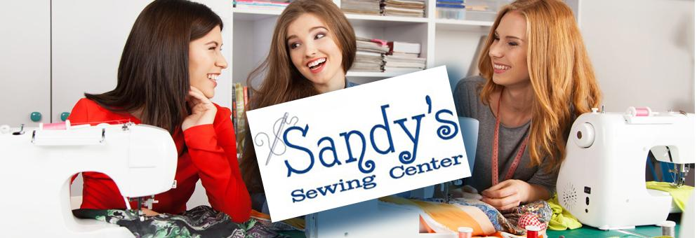 Sandy's sewing center lesson parties