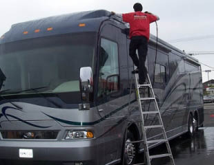 RV cleaning services near Fox Hills