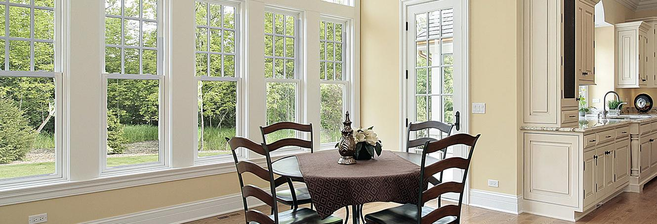 Beautiful new windows and door from America's Best Choice