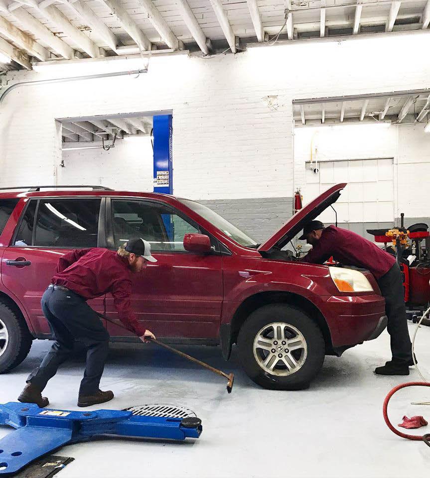 car repair garage