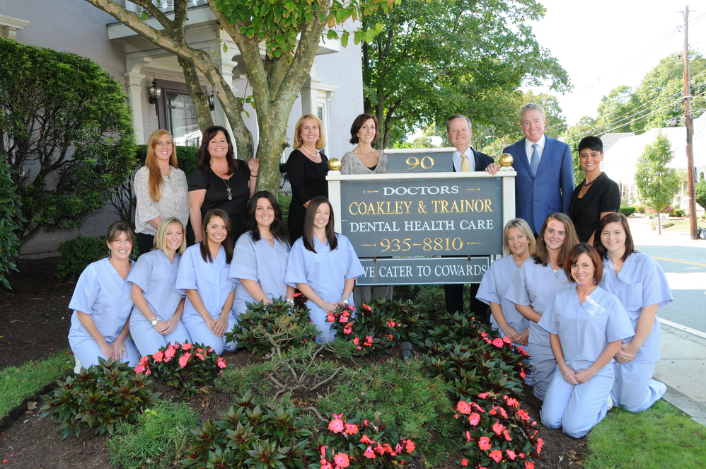 Coakley & Trainor DDS and Specialists with our professional dental staff