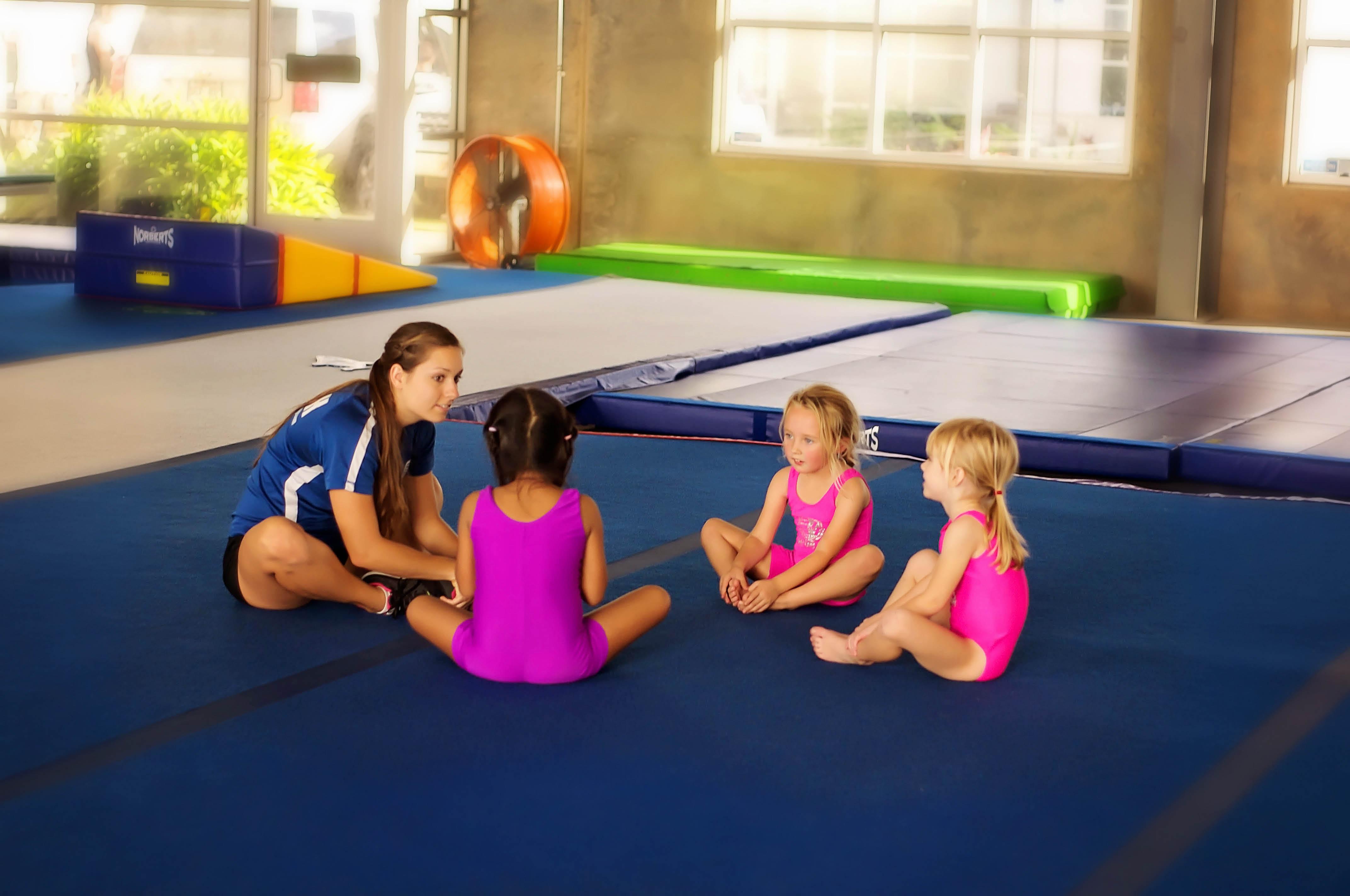 Gymnastics and martial arts classes