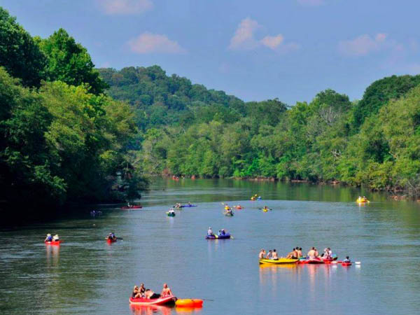Chattahoochee River rafting