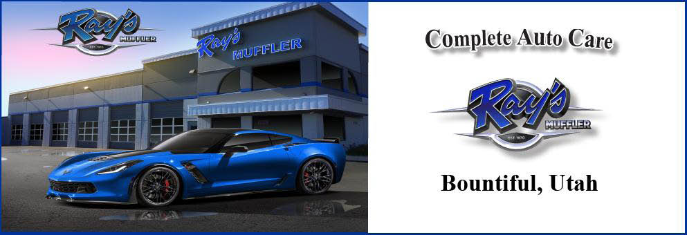 Ray's Muffler Service - Complete Auto Care, Bountiful, Utah banner