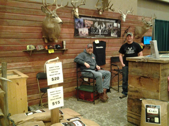 Taxidermy experts on site at the Expo