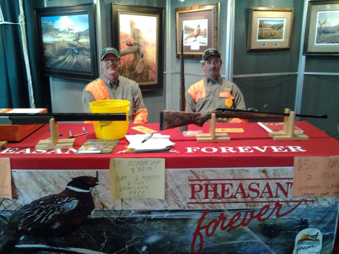 Stop in and talk to Pheasants Forever members