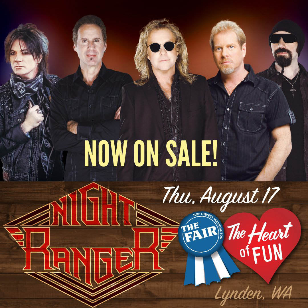 NW Washington Fair 2017 in Lynden night ranger
