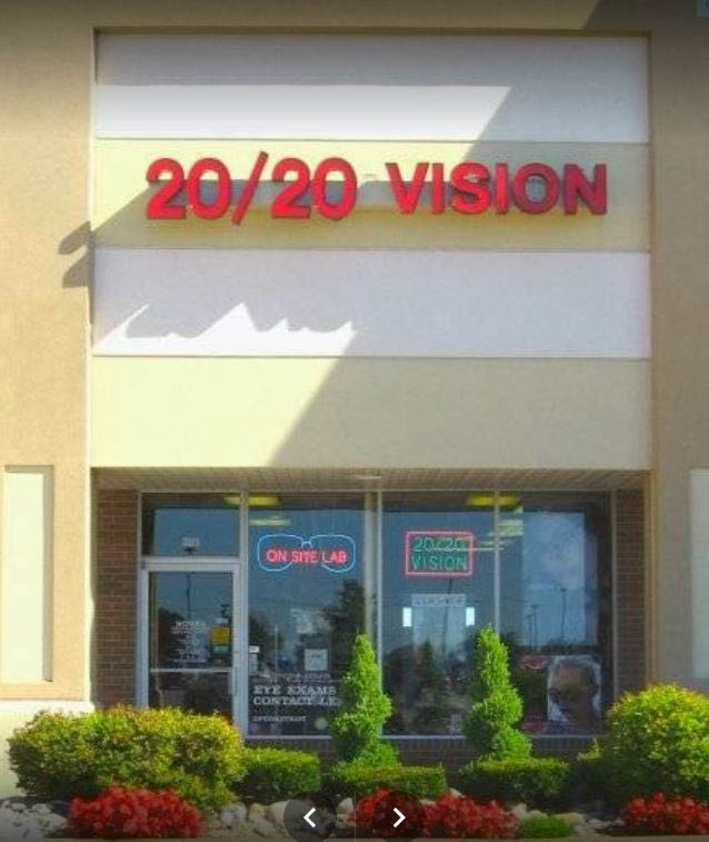 photo of exterior of 20/20 Vision of Rochester Hills