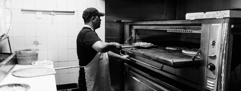 Nick's Pizza and Baco Stamford CT pizza oven