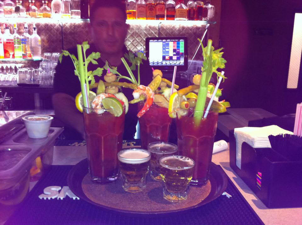 Final Approach Bar and Restaurant near Cudahy, WI is Famous for 22 oz BLOODY MARY!!!!