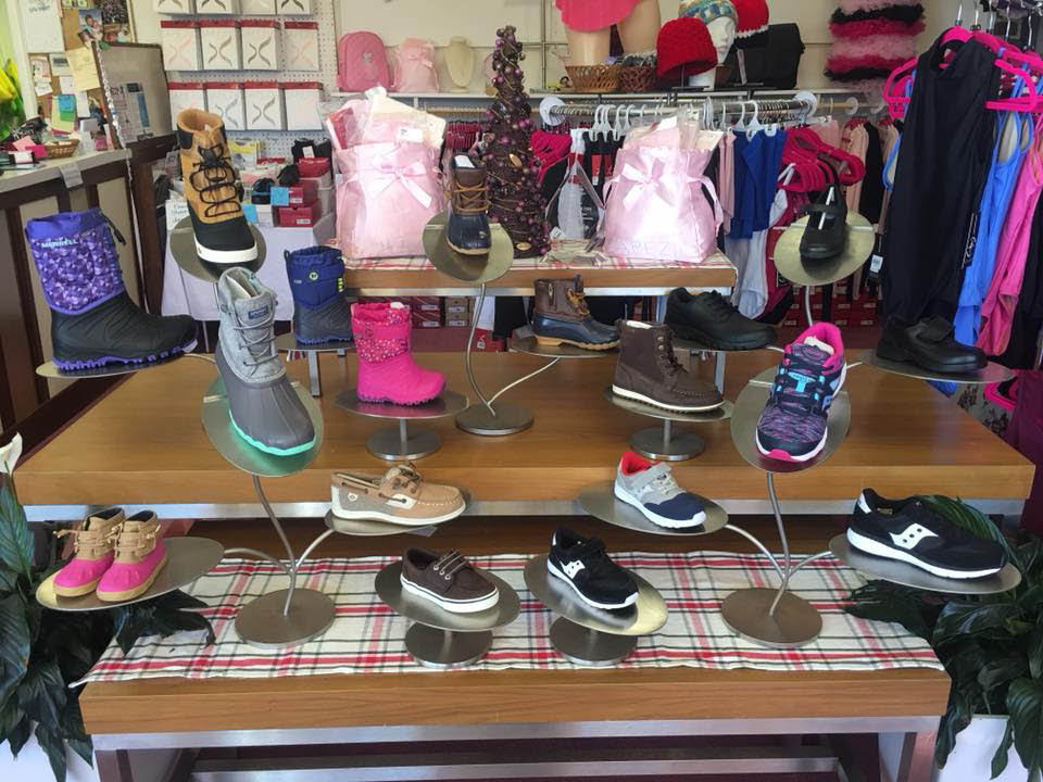 dance shoes, leotards, dance apparel, tutu, children's shoes, accessories; herndon, va