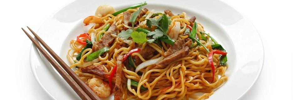 asian food noodles chopsticks asian paradise