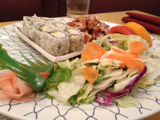 Deliciously fresh Akai Hana California Roll is a San Diego crowd favorite