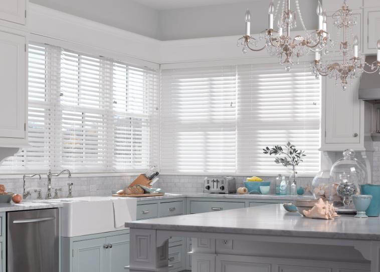 Beautify your kitchen with shades or blinds from Budget Blinds in San Diego, CA