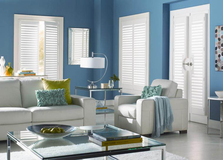 Refresh your living room decor with beautiful custom made blinds from Budget Blinds in San Diego, CA